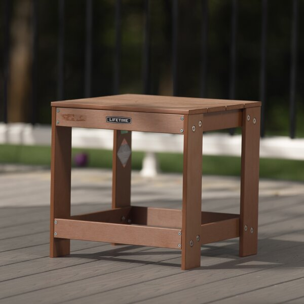Richert Plastic/Resin Side Table by Lifetime