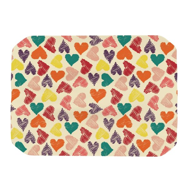 Little Hearts Placemat by KESS InHouse