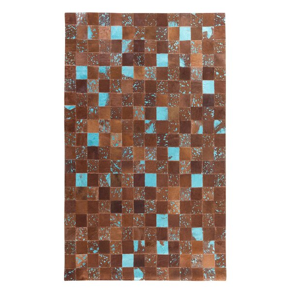Aliaga Hand-Woven Brown Area Rug by Home Loft Concepts