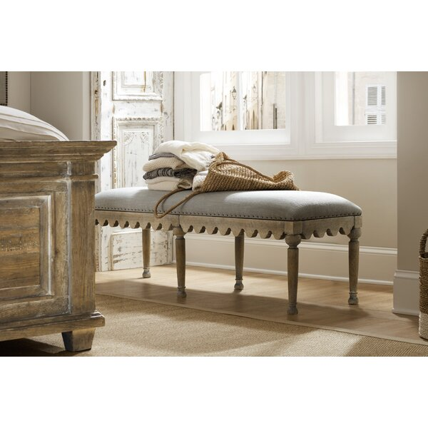 Boheme Upholstered Bench by Hooker Furniture