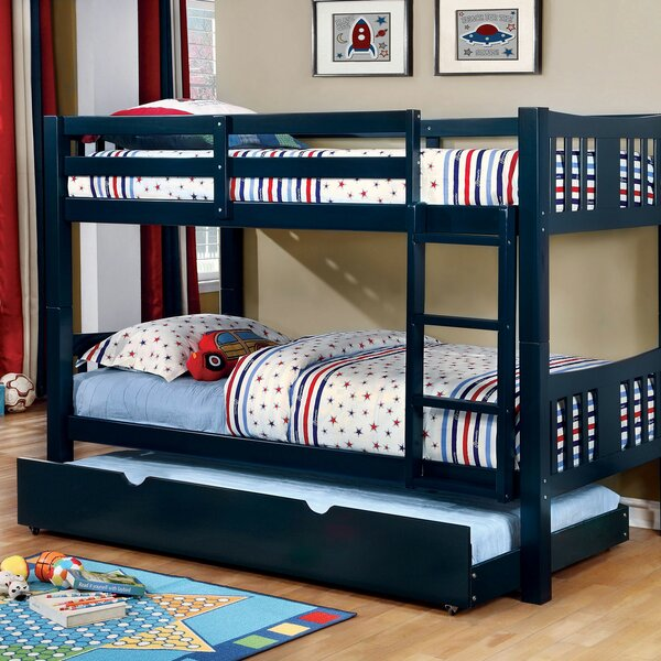 Fontinella Twin over Twin Bunk Bed by Harriet Bee