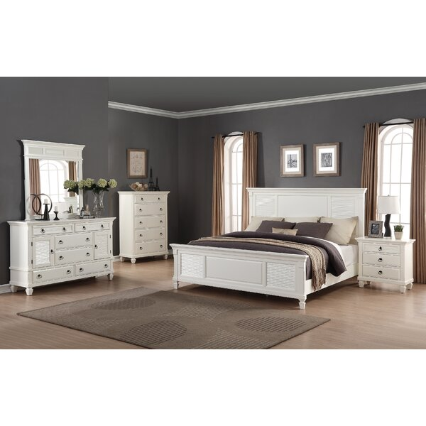 Regitina King Platform Configurable Bedroom Set by Roundhill Furniture