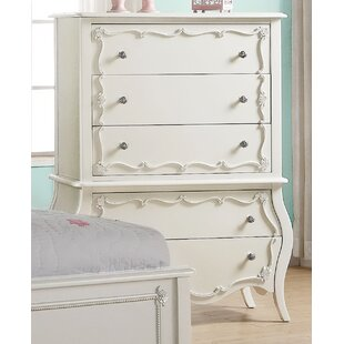 Reviews ConCo 5 Drawer Chest By Harriet Bee