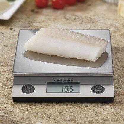 Deluxe Digital Kitchen Scale by Cuisinart