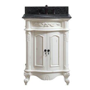 Best Reviews Dinger 25 Single Bathroom Vanity Set ByDarby Home Co