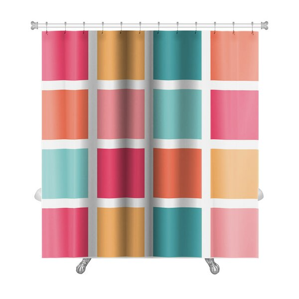 Cappa Tiled Pattern Repeating Premium Shower Curtain by Gear New