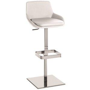 Laura Adjustable Height Swivel Bar Stool by Casabianca Furniture