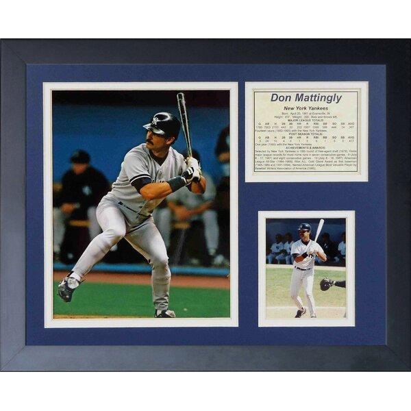 Don Mattingly Framed Memorabilia by Legends Never Die