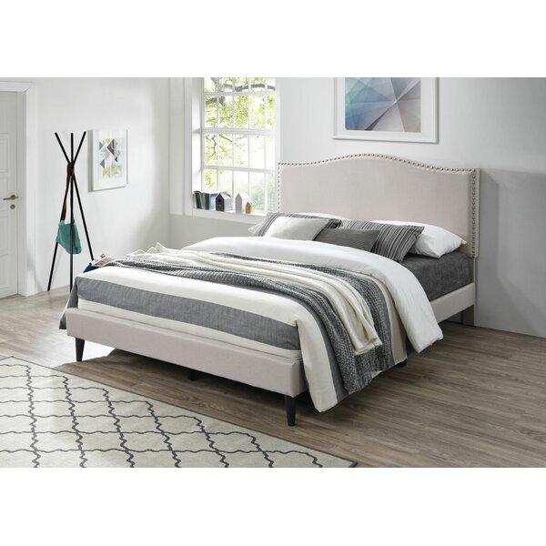 Longmeadow Upholstered Platform Bed by Red Barrel Studio