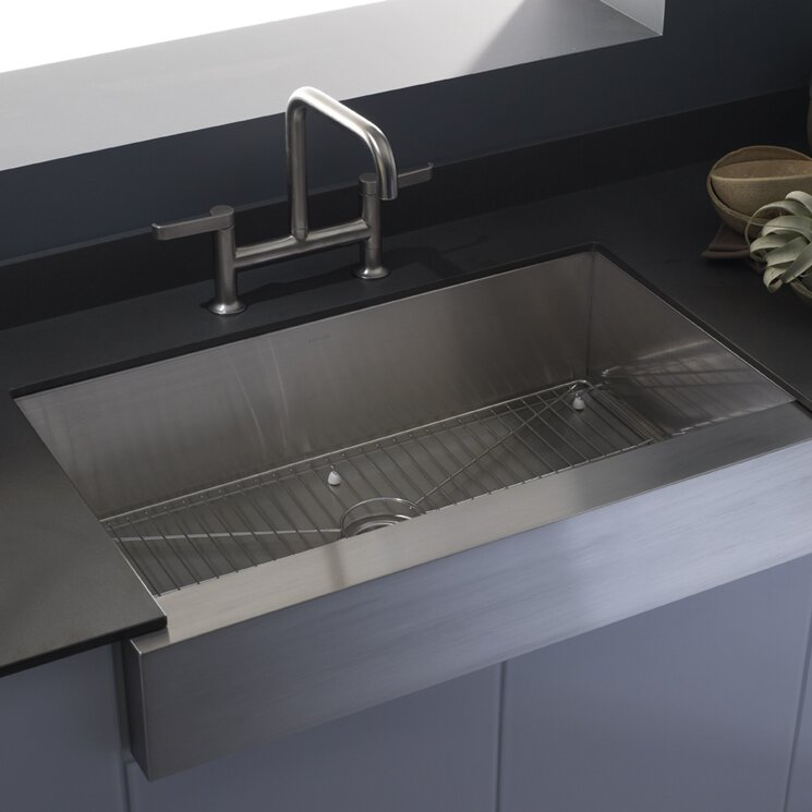 Attrayant Vault Farmhouse Single Bowl Kitchen Sink