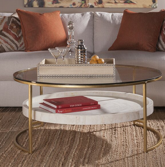Frame Coffee Table With Storage By Artistica Home