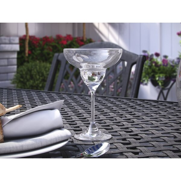 Stansbury 11 oz. Plastic Cocktail Glass (Set of 4) by Three Posts