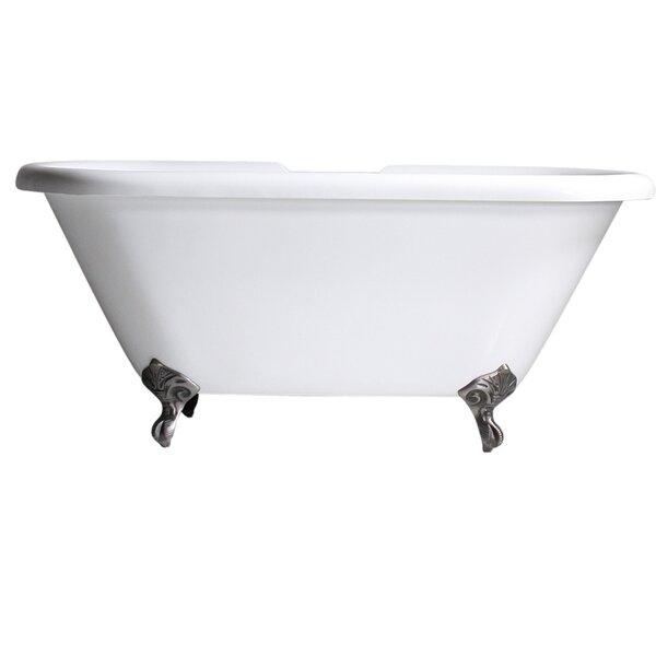 Hotel Acrylic 67 x 32 Freestanding Soaking Bathtub by Baths of Distinction