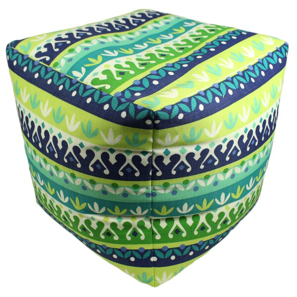 Rego Pouf Ottoman by Wrought Studio