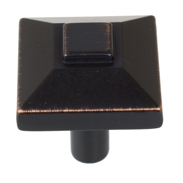 Pyramid Square Knob (Set of 10) by GlideRite Hardware
