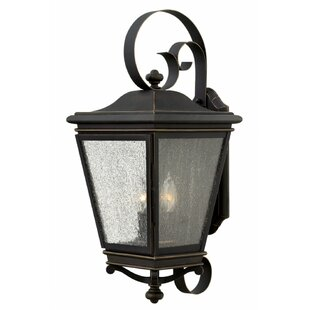 Affordable Pullins 3-Light Outdoor Wall Lantern By Charlton Home