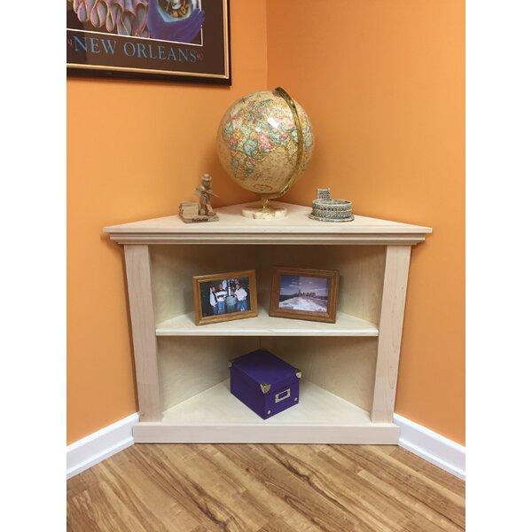 Kerr 3-Sided Corner Unit Bookcase by Red Barrel Studio