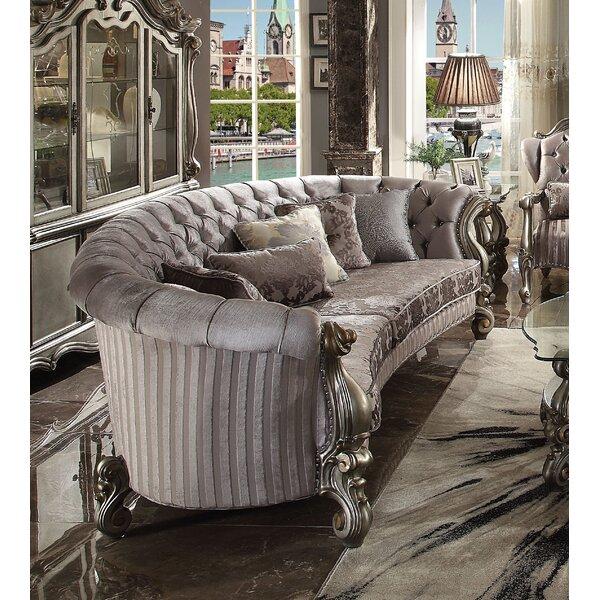 Sherrill Chesterfield Sofa By Rosdorf Park