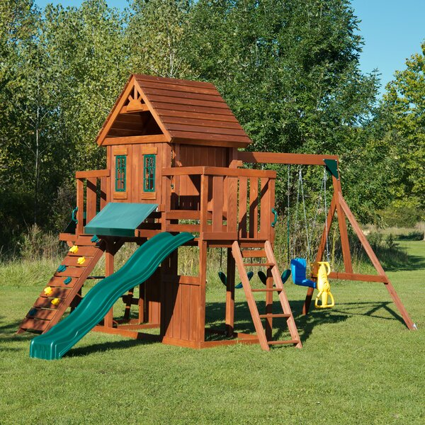 Winchester Wood Complete Swing Set by Swing-n-Slid