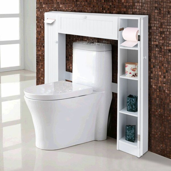 Bustamante 34.5 W x 38.5 H x 7 D Over-the-Toilet Storage