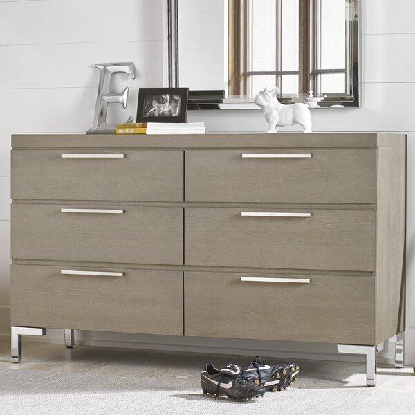 Hazen 6 Drawer Double Dresser by Greyleigh