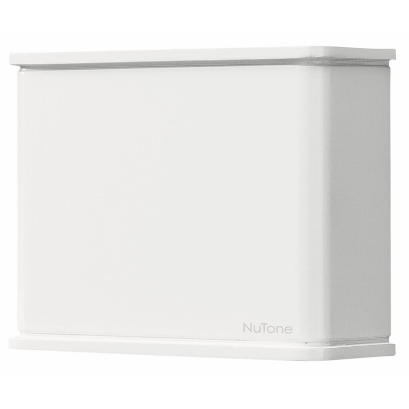 Broan Nutone White Plastic Doorbell Chime Cover Only