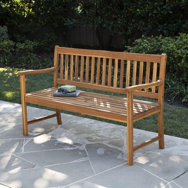 Tilcara Convertible Wooden Garden Bench by Highland Dunes Highland Dunes