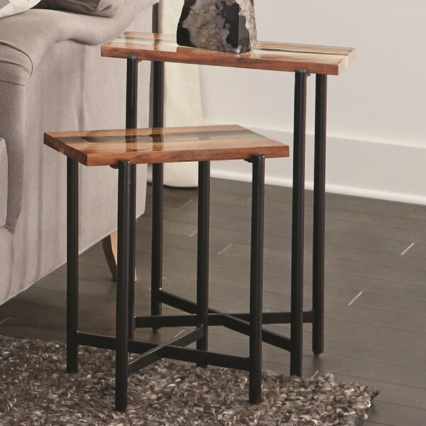 Delaine Nesting End Table by Foundry Select Foundry Select