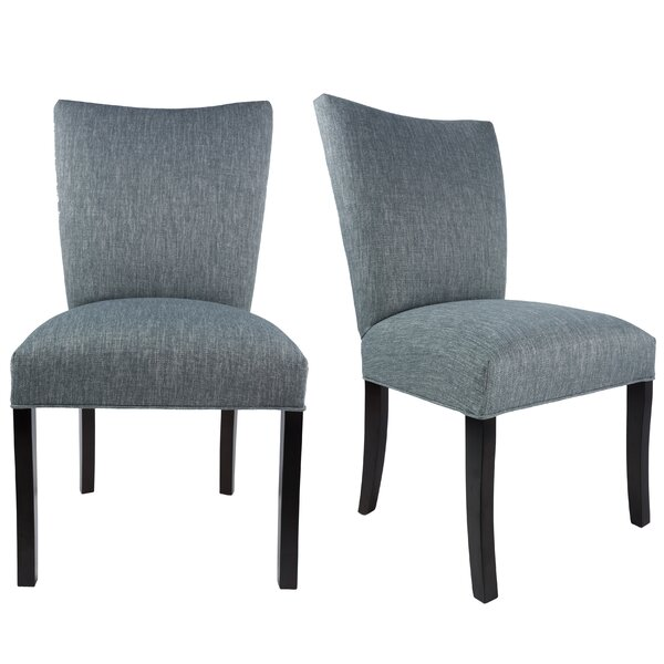 Tatianna Upholstered Contemporary Parsons Chair (Set of 2) by Red Barrel Studio Red Barrel Studio