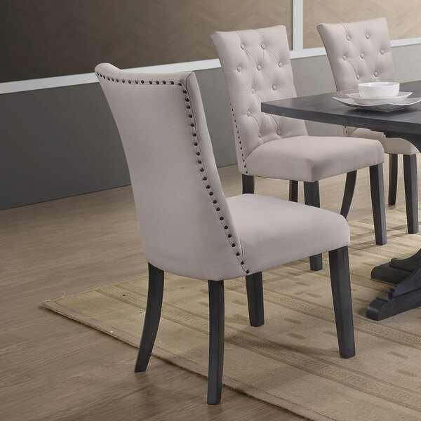 Russellville Upholstered Dining Chair (Set Of 2) By Darby Home Co Darby Home Co