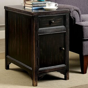 Beeney End Table with Storage By Gracie Oaks