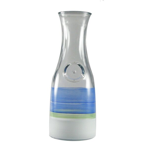 Retro Stripe Carafe by Golden Hill Studio