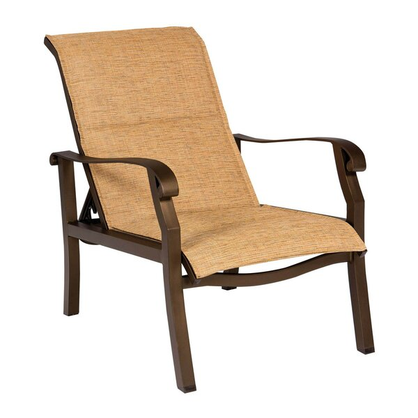 Cortland Sling Adjustable Patio Chair by Woodard