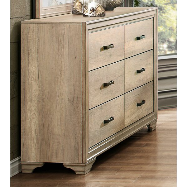 Gretna Transitional 6 Drawer  Bachelors Chest by Ophelia & Co.