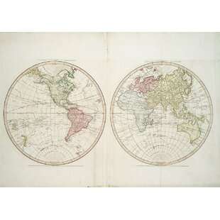 Vintage Map Wallpaper | Wayfair