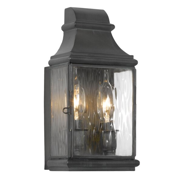Thornville 2-Light Outdoor Wall Lantern by Darby Home Co