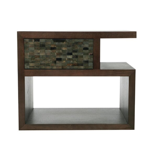 Duet 1 Drawer Nightstand by Indo Puri