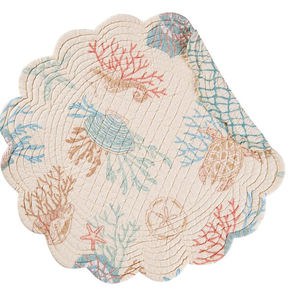 Brazeal Round Placemat (Set of 6) by Highland Dunes