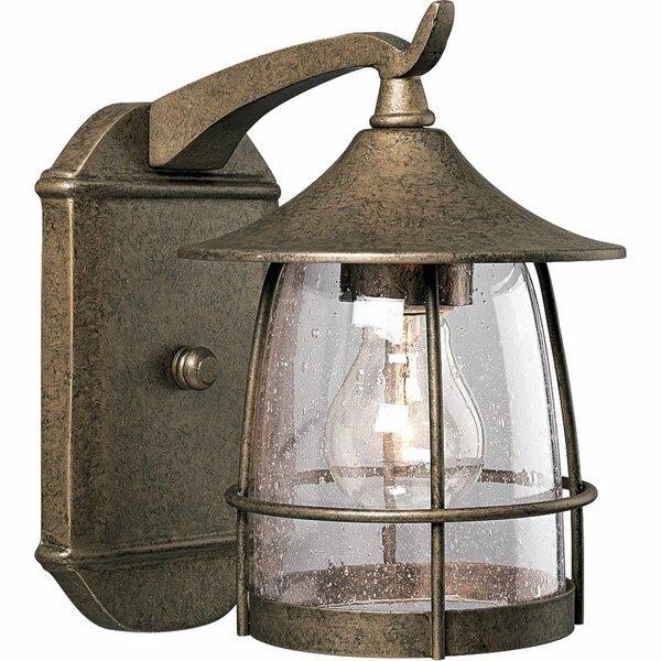 Triplehorn 1-Light Incandescent Outdoor Wall Lantern by Alcott Hill
