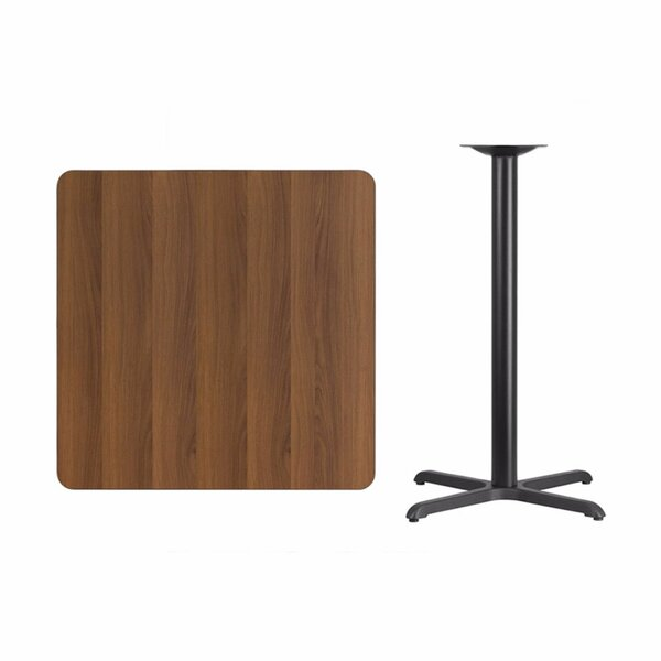 Mazzeo Square Laminate Pub Table by Winston Porter