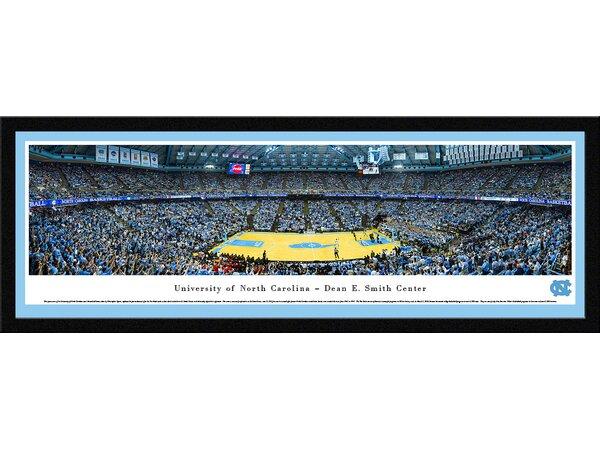 NCAA North Carolina, University of - Basketball by Christopher Gjevre Framed Photographic Print by Blakeway Worldwide Panoramas, Inc