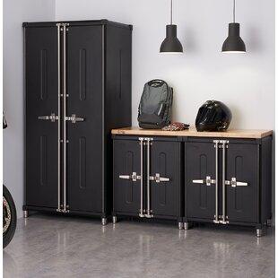 4 Piece Garage Cabinet Complete Storage System Set