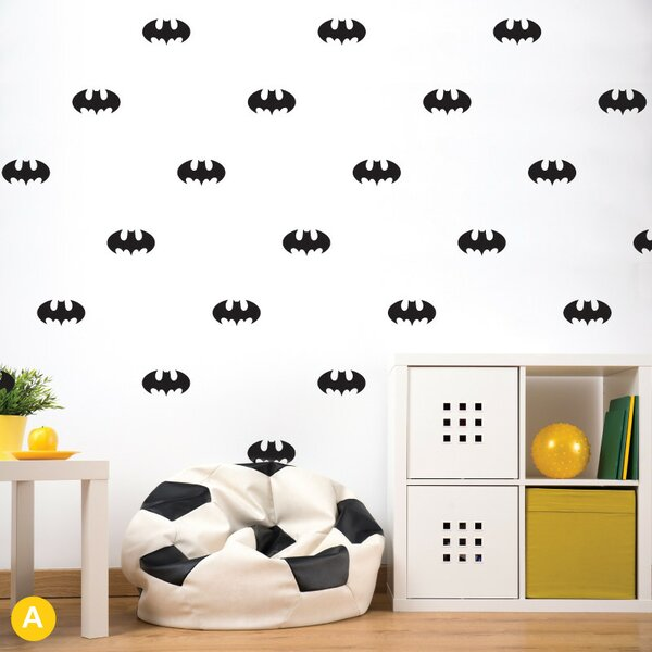 Gretchen Bats Wall Sticker/Decal by Harriet Bee