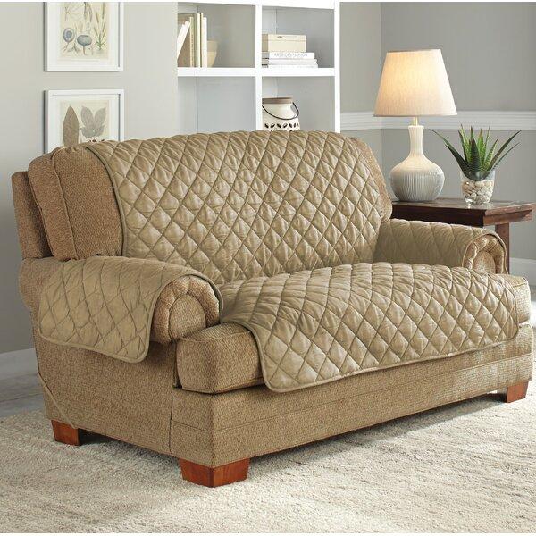 Serta Ultimate Waterproof Box Cushion Loveseat Slipcover by Serta