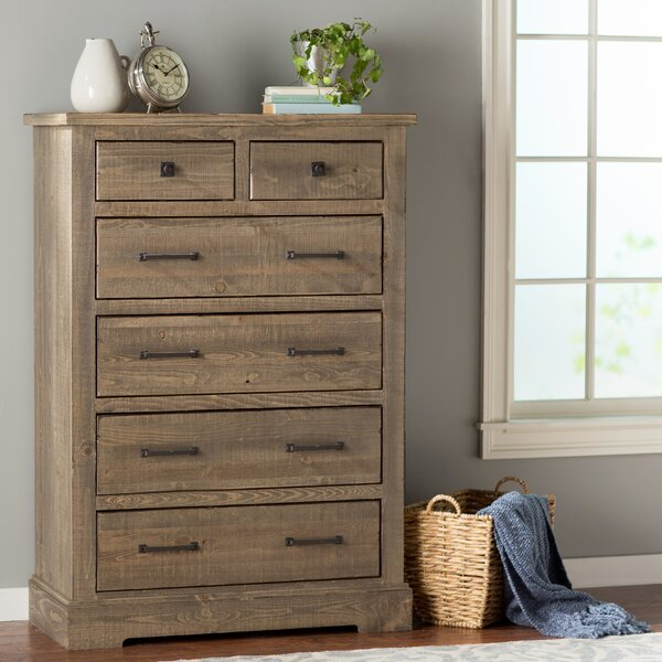 Arthurs 6 Drawer Chest by August Grove