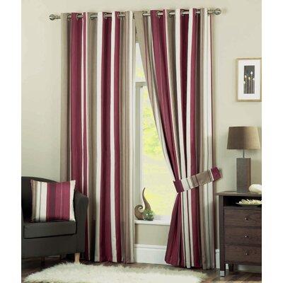 Savannah Eyelet Room Darkening Panel Curtains