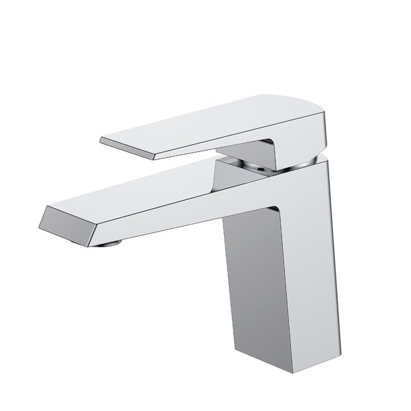 Aqua Chiaro Single Lever Wide Spread Bathroom Faucet by Kube Bath