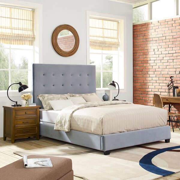 Benedict Upholstered Standard Bed by Alcott Hill