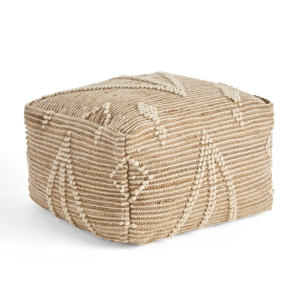 Tarrance Pouf by Bungalow Rose