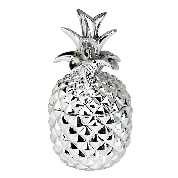 Ceramic Pineapple Scented Novelty Candle by Bay Isle Home